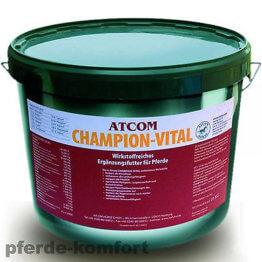 Atcom CHAMPION-VITAL 10Kg, Mineralfutter für Pferde-Premium-Qualität! 9,99€/Kg